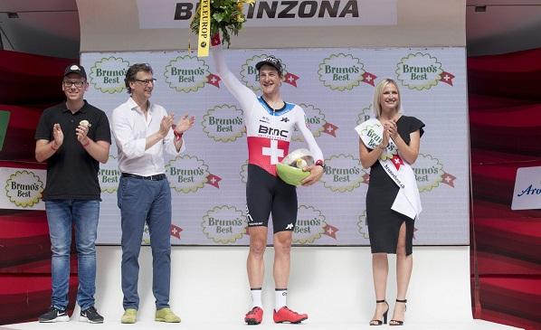 环瑞士收官战,斯特凡金赢得个人计时赛,波特收获总冠军