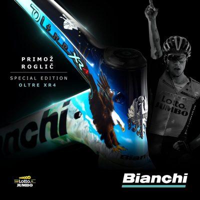 赫鲁内维亨和罗格里奇的环法定制涂装——Bianchi Oltre XR4